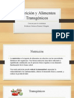 Nutrición y Alimentos Transgénicos.pptx