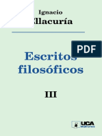 Escritos Filosóficos Tomo III
