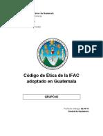 Código de Etica IFAC- AUDITORIA V-1 Caratula