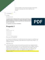 evaluacion 3 gerencia de proyectos