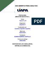 Español II (Tarea V y VI)