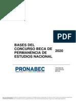 202005 - Bases del concurso - Beca Permanencia
