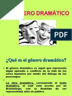 género dramático 2019