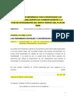 PLANTILLA PARAFRASEO ANTECEDENTES