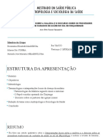 Interpretações sobre a Malária em Moçambique - G 11