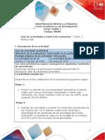 Guía de actividades y rubrica de evaluación - Unidad 1 - Tarea 2 - Writing Task.pdf