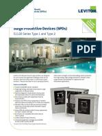 Type 2 SPD 51120 Series Product Bulletin Q-563