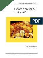 ¿Cómo Atraer La Energía Del Dinero (Corto Resumen) Brenda Reyes.pdf