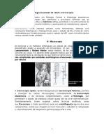 Unidade 3- MÉTODOS DE ESTUDO DA CÉLULA - MICROSCOPIA.docx