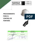 PTS 002 - CONTROL DE PORTERIA