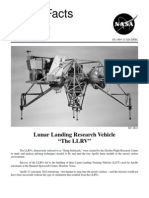 NASA Facts Lunar Landing Research Vehicle