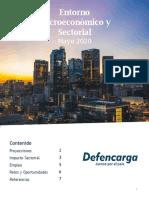 Análisis Macroeconómico y Sectorial Mayo 2020