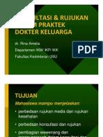Fmd175 Slide Konsultasi Dan Rujukan Dalam Praktek Dokter Keluarga