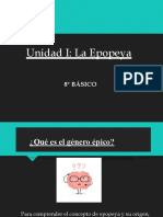 LA EPOPEYA - OCTAVO BÁSICO.pptx