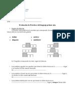 Examen Prácticas del lenguaje_1ero 2da_Sec 61_2020