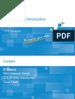 ZTE IP RAN Introduction
