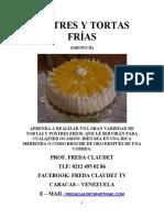 GUÍA DE TORTAS Y POSTRES FRÍOS GRUPO