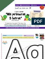Material de Cortesía Clase 18 (Letra Aa) Mi Asistente de Preescolar