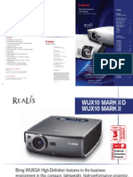 Projector Spec 5572