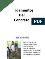 topicos del concreto