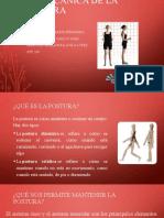 BIOMECANICA DE LA POSTURA