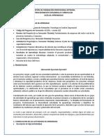 RAE 29_Guía 1 Formulación del proyecto