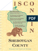Wisconsin Sheboygan County Excerpts From Historical Writings