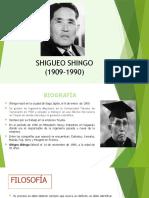SHIGUEO SHINGO