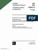 IEC 60268-14