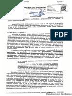 Jorge Vianna aciona Tribunal de Contas sobre quarteirização de serviços no IGESDF
