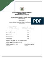 Informe1 -Prac. 4 Tejido Epitelial y Conectivo