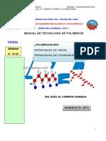 CLASE I -VI POLIMERIZACIÒN