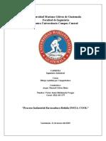 DESCRIPCION  PASOS DE PROYECTO DE ENVASADORA