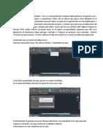 Informe Proyecto Apts Autocad 2D .
