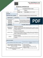 Sesión de aprendizaje por desempeños.pdf