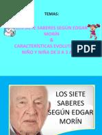 7 SABERES-ETAPAS DEL NIÑO