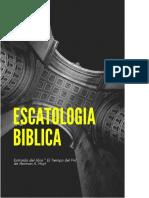 Lección 1- Introduccion a la Escatologia Biblica