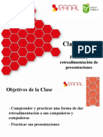 Clase 13 Panal Yobilo - Práctica y retroalimentación de presentaciones