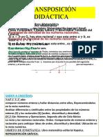 EXPOSICION DE DIDACTICA DE LA MATEMATICA