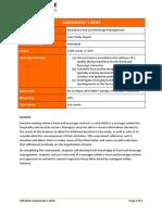 HOS203A Assessment 1 Brief_Case Study Report_080517