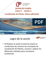 DISPOSICION DE PLANTA - UNIDAD 1 - SEMANA 2 - Sesion 3 - Localizacion de Planta.pptx