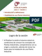 DISPOSICION DE PLANTA - UNIDAD 1 - SEMANA 1 - SESION 1.pptx