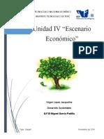 Escenario economico