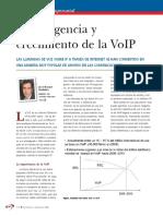 Convergencia y Crecimiento de VoIP