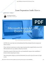 Azure AZ-900 Exam Preparation Guide_ How to pass in 3 days