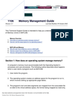 Memory Management Guide (1106)