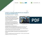 COVID-19_ Comando da PM determina uso obrigatório de máscaras durante serviço