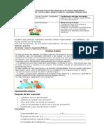 ACTIVIDAD VIRTUAL LENGUAJE 4o P.2   GUIA 1    2020. fABULA EL LOBO Y EL PERRO