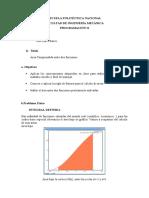 Proyecto Area comprendida entre dos funciones