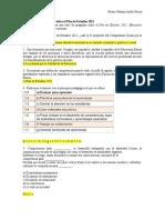 Módulo 1 - Actividad 2. Cuestionario Sobre El Plan de Estudios 2011